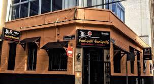 fachada del restaurante funiculi-funicula
